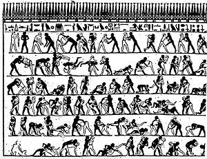 پویانمایی در تمدن های باستانی